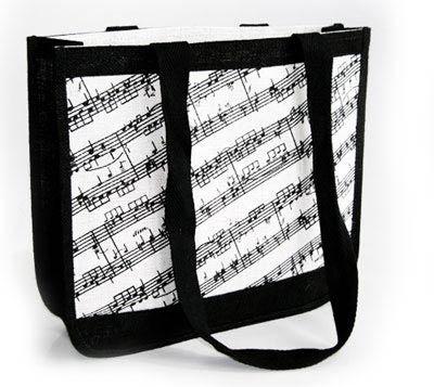 borse con note musicali