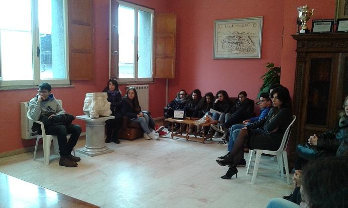 Foto dell'incontro con il Sindaco