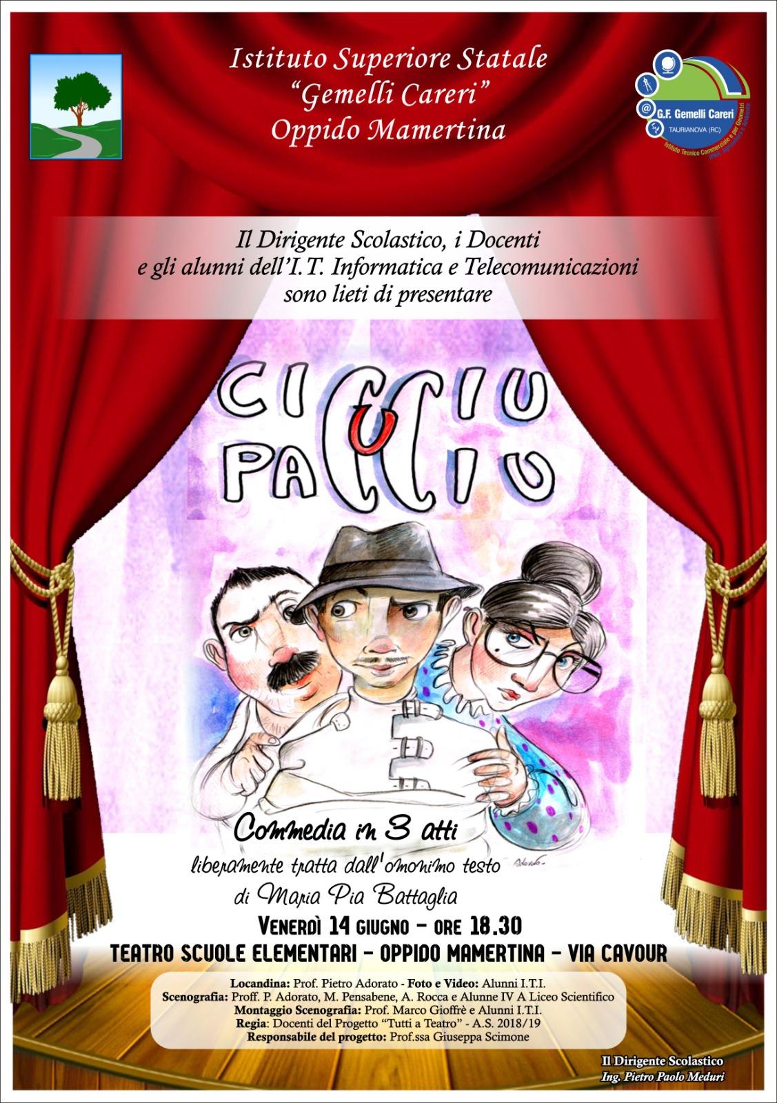 Commedia - CICCIU U PACCIU -